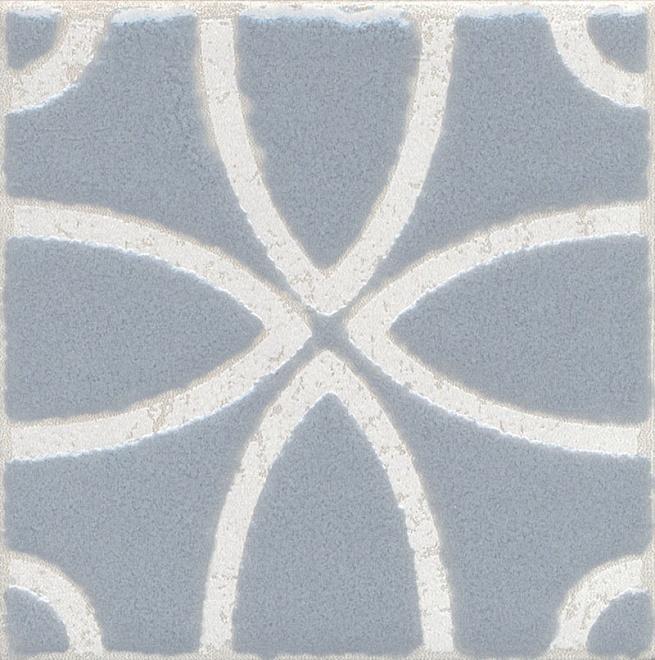 Купить Керамический гранит Kerama Marazzi Амальфи Орнамент Серый STG/C405/1270 Декор 9, 9x9, 9, Россия