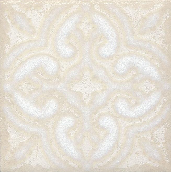 Купить Керамический гранит Kerama Marazzi Амальфи Орнамент Белый STG/B408/1266 Декор 9, 9x9, 9, Россия