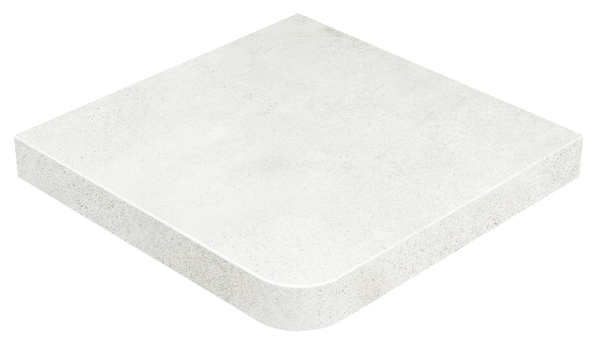 Купить Ступень Gres de Aragon Urban Esquina Blanco Anti-Slip угловая 33х33, Испания