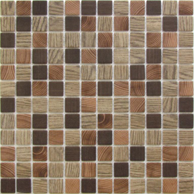 Купить Стеклянная Мозаика China Mosaic Bora (23x23x4) 30х30, Китай