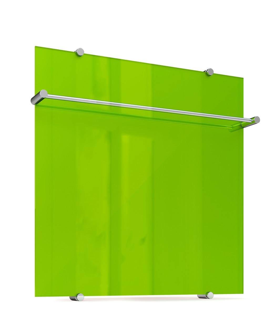 Купить Полотенцесушитель электрический Теплолюкс Flora 600х600 зелёный, Россия