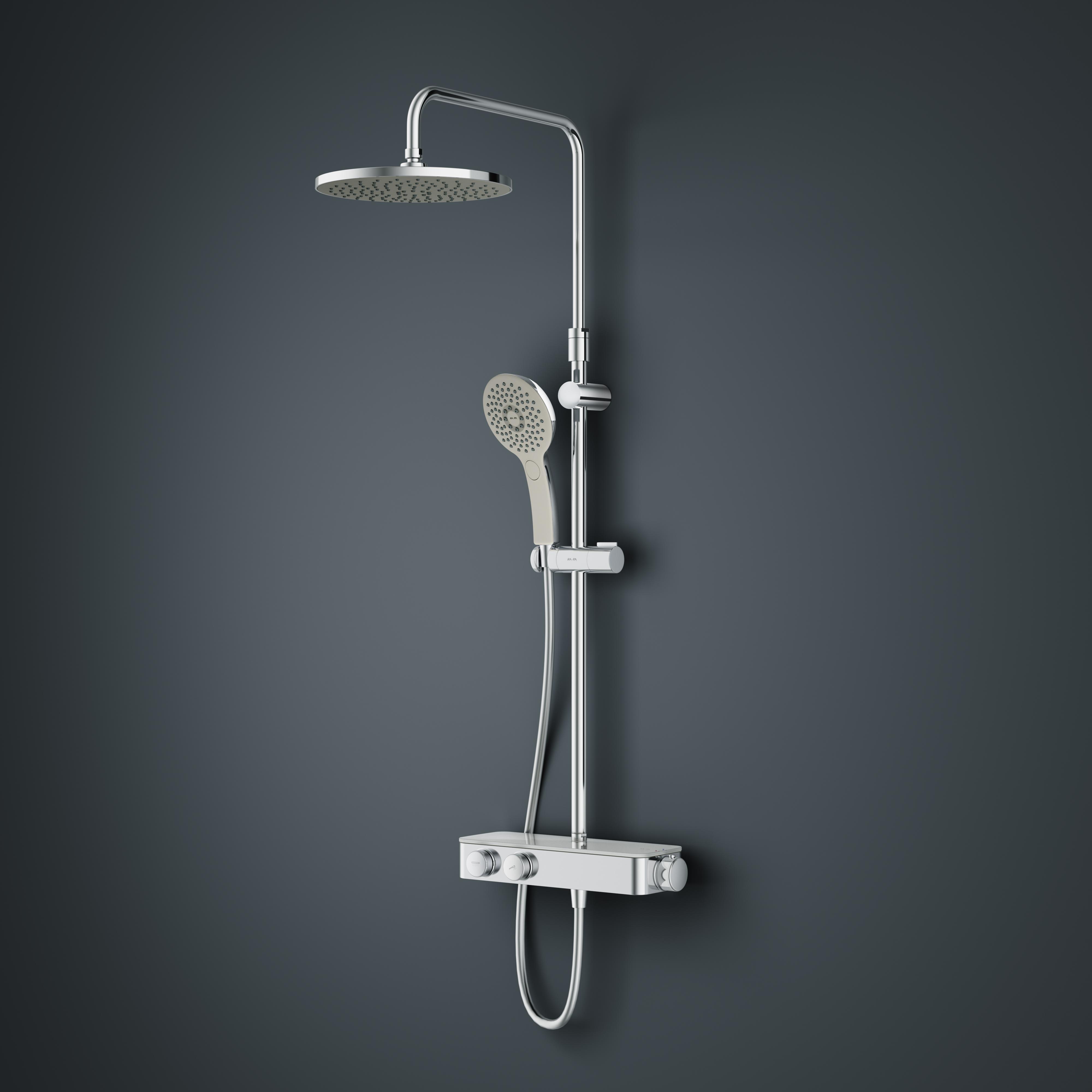 Душевая система ShowerSpot с термостатом AM.PM Inspire 2.0 F0750A400