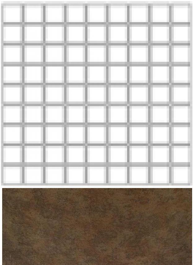 Купить Керамогранит Seranit Riverstone Mosaic Moka (5x5) мозаика 30x30, Турция