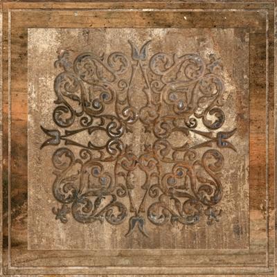 Купить Керамический плитка Absolut Keramika Newcastle Decor Brown декор 45x45, Испания