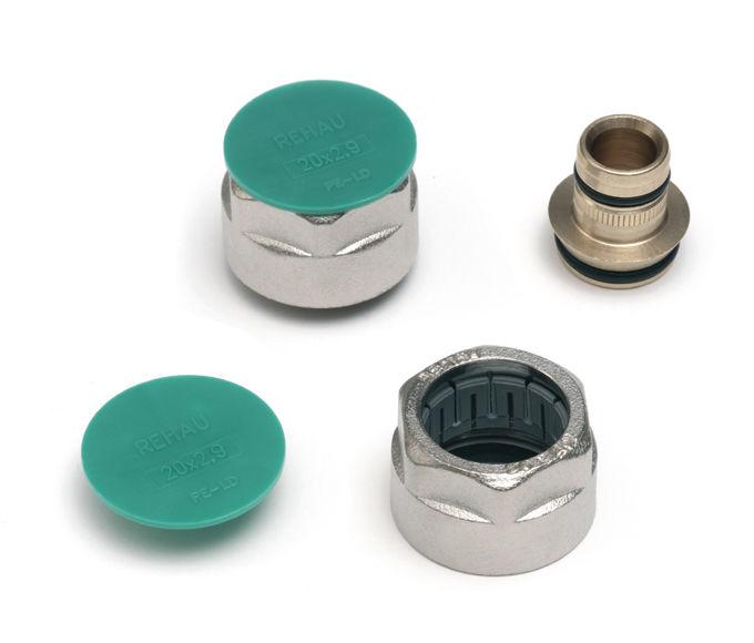 Купить Резьбозажимные соединения комплект Rehau Stabil 20х G 3/4 2 шт., Германия