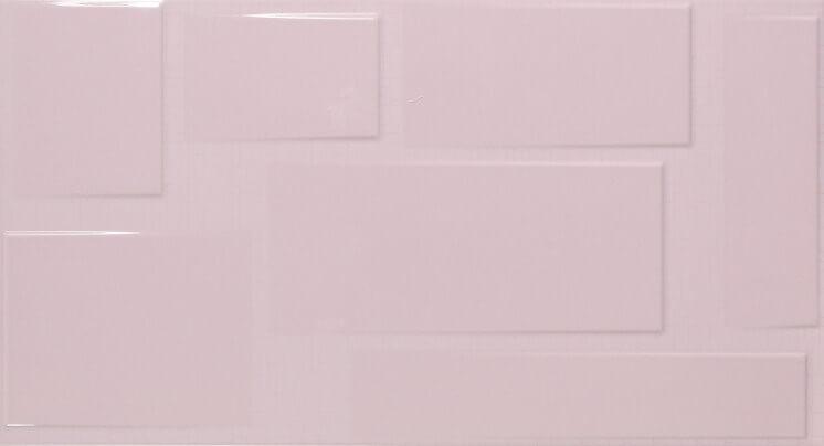 Купить Керамическая плитка Fanal Blocks Relieve Lavanda настенная 32, 5x60, Испания