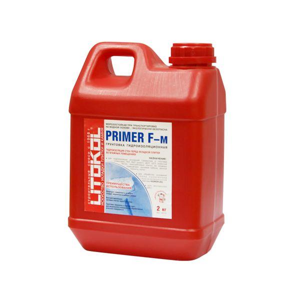 Купить Litokol Грунтовка Primer F-m гидроизоляционная 2кг