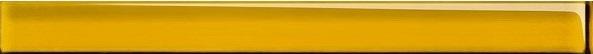 Купить Керамическая плитка (UG1H061) спецэлемент стеклянный: Universal Glass, желтый, 4x45, Сорт1, Cersanit, Россия