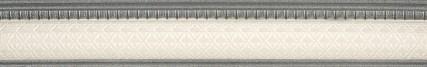 Купить Керамическая плитка Rocersa Aura Moldura Scala Grey Бордюр 4x31, 6, Испания