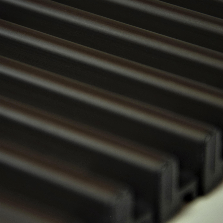 Купить Декоративная решетка Mohlenhoff темная бронза, шириной 260 мм 1 пог. м Россия