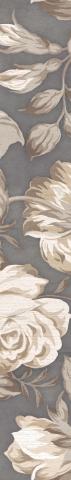 Купить Керамическая плитка Fiori Grigio Бордюр 2 1506-0100 9х60, Lb-Ceramics, Россия