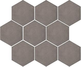 Керамическая плитка Kerama Marazzi Тюрен SG1005N Коричневый полотно (из 9 частей) 37х31