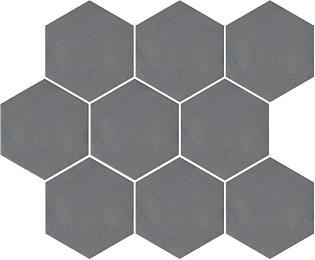 Керамическая плитка Kerama Marazzi Тюрен SG1002N Серый Темный полотно (из 9 частей) 37х31
